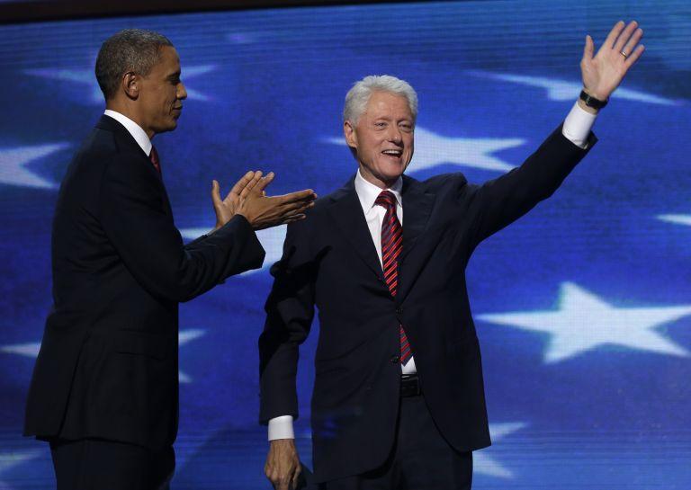 Ο Κλίντον «έχρισε» Πρόεδρο τον Ομπάμα   tovima.gr