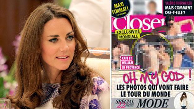 Γυμνόστηθες φωτογραφίες της Κέιτ Μίντλετον σε γαλλικό περιοδικό | tovima.gr