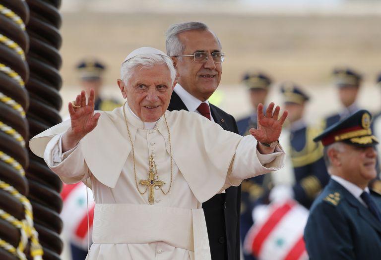 Πάπας Βενέδικτος: «Κραυγή για ελευθερία η Αραβική Ανοιξη» | tovima.gr