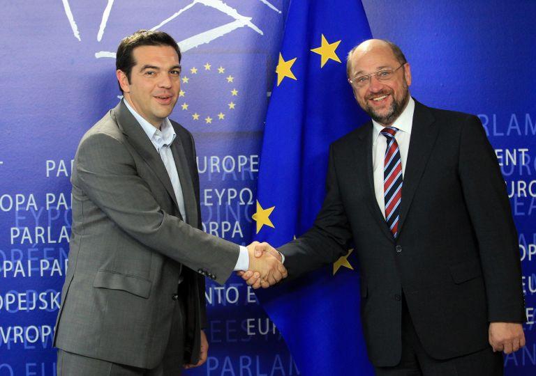Σουλτς για συνάντηση με Τσίπρα:είχαμε μια ζωντανή συζήτηση | tovima.gr