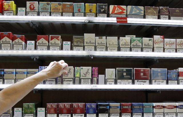 Price of cigarettes increases by 10 cents today | tovima.gr