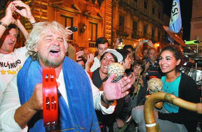 Ιταλικά ΜΜΕ για εκλογές: Χιονοστιβάδα το κίνημα Πέντε Αστέρων   tovima.gr