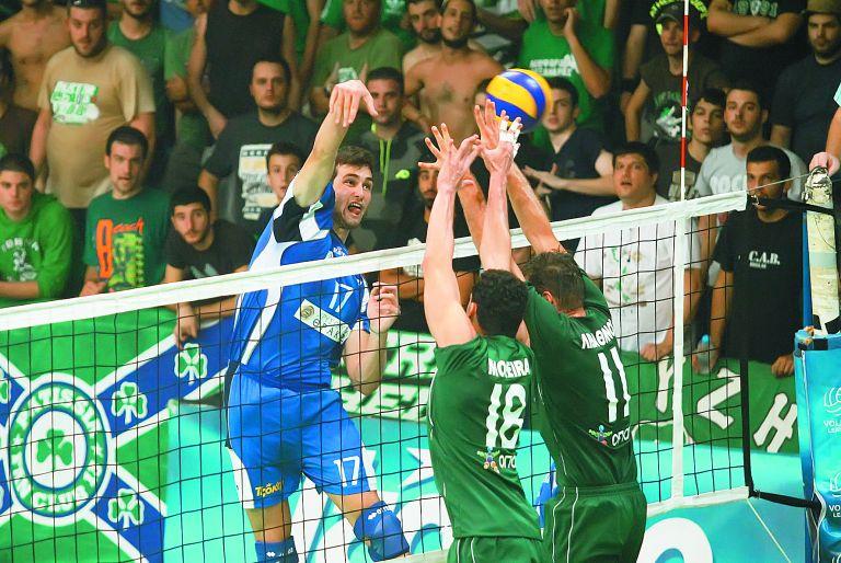 Βόλεϊ: Εμεινε στην Α1 ο Παναθηναϊκός | tovima.gr