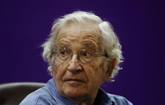 Chomsky: «Germany imposes economic slavery on Greece»   tovima.gr