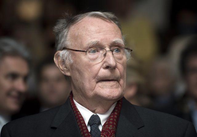 Πέθανε ο ιδρυτής της ΙΚΕΑ Ίνγκβαρ Κάμπραντ | tovima.gr