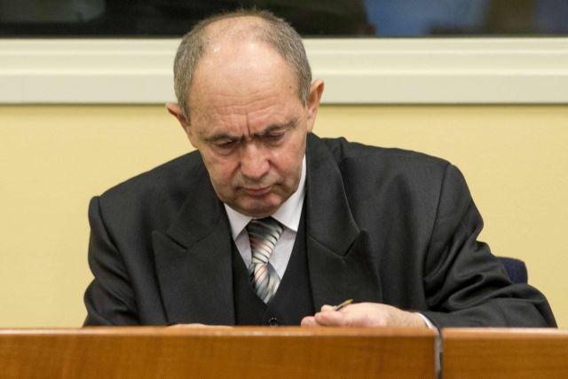Πέθανε στη φυλακή ο σέρβος στρατηγός Τόλιμιρ | tovima.gr