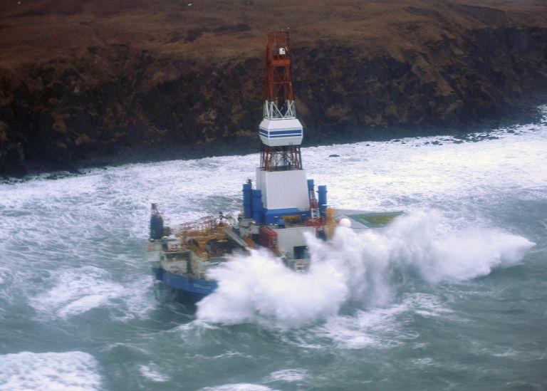 Αλάσκα: Πλωτή εξέδρα γεώτρησης της Shell προσάραξε σε αβαθή | tovima.gr
