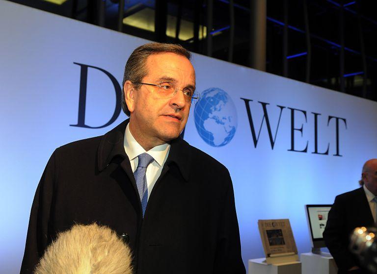 Ο Σαμαράς βασικός ομιλητής στο συνέδριο της Die Welt   tovima.gr