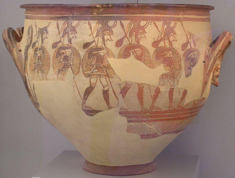 Η μυκηναϊκή τέχνη ήταν στρατευμένη | tovima.gr