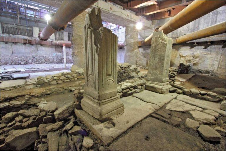Τα αρχαιολογικά ευρήματα του μετρό Θεσσαλονίκης «μετακομίζουν» | tovima.gr