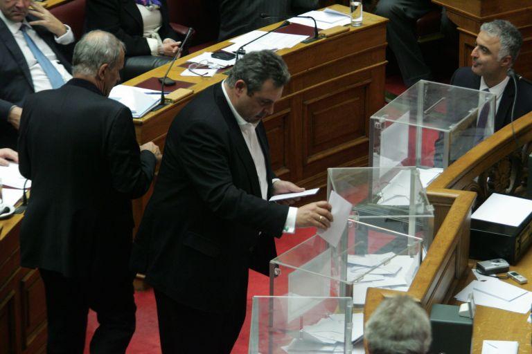 Καμμένος: «Νύχτα ντροπής για το ελληνικό Κοινοβούλιο η ψηφοφορία» | tovima.gr