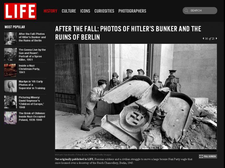 Ντοκουμέντα από τo κρησφύγετο του Χίτλερ   tovima.gr