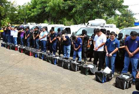 Νικαράγουα: 30 χρόνια κάθειρξη σε 17 μεξικανούς εμπόρους ναρκωτικών | tovima.gr