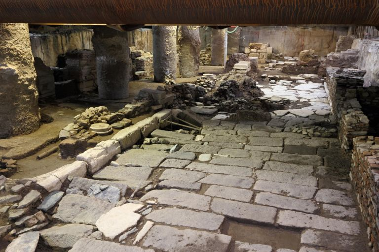 Θεσσαλονίκη: Στο στρατόπεδο Π.Μελά τα αρχαία που «βρήκε» το μετρό | tovima.gr