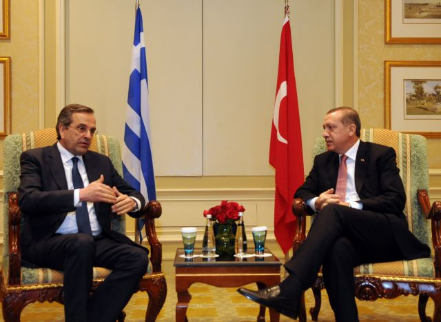 Samaras and Erdogan conclude Friday meeting in negative atmosphere | tovima.gr