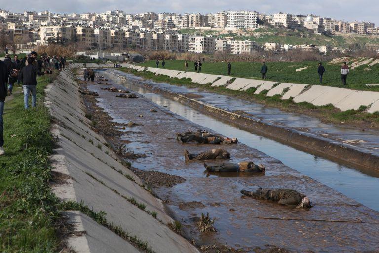 Συρία: Δεκάδες πτώματα ανδρών «που εκτελέστηκαν» βρέθηκαν στο Χαλέπι   tovima.gr