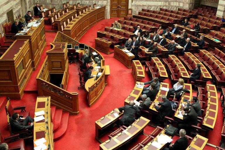 Σκληρή αντιπαράθεση Τσίπρα-Στουρνάρα στη Βουλή για την ΕΡΤ   tovima.gr