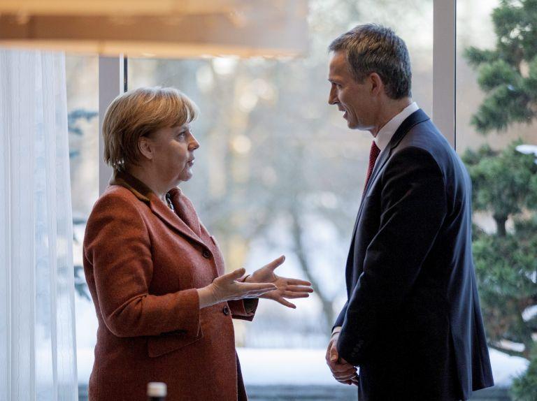 Συνάντηση Μέρκελ-Στόλτενμπεργκ την επόμενη Παρασκευή στο Βερολίνο | tovima.gr