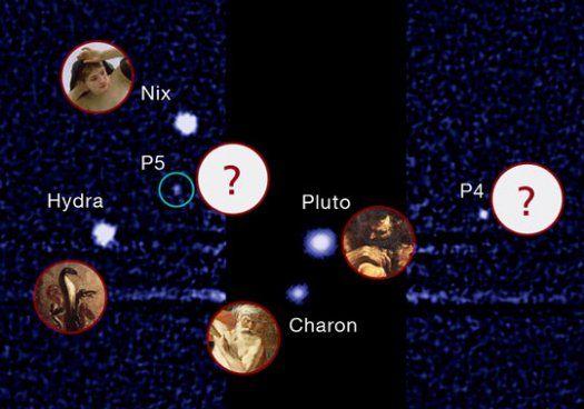 Το Internet «βάφτισε» τα φεγγάρια του Πλούτωνα | tovima.gr