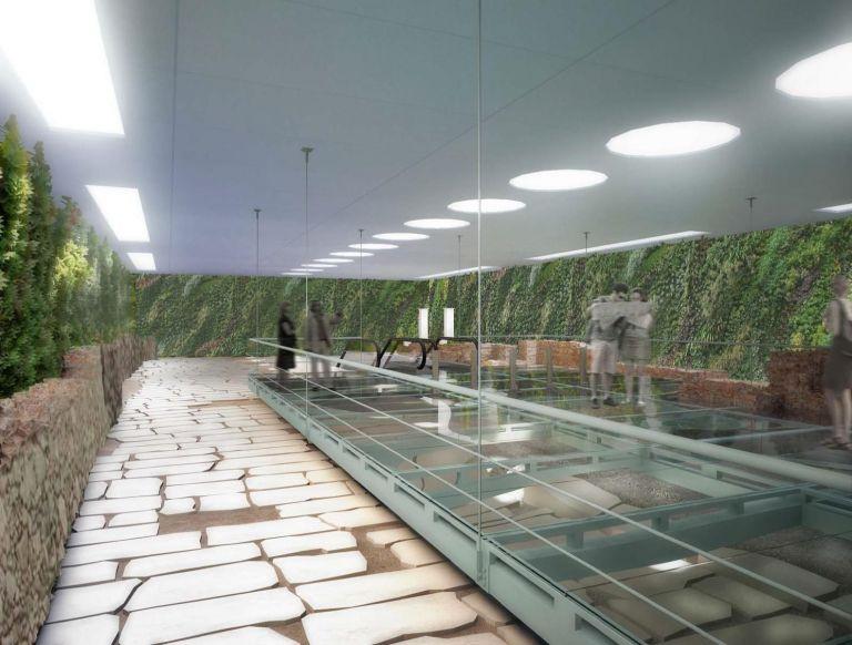 Συνύπαρξη αρχαίου δρόμου και μετρό στη Θεσσαλονίκη | tovima.gr