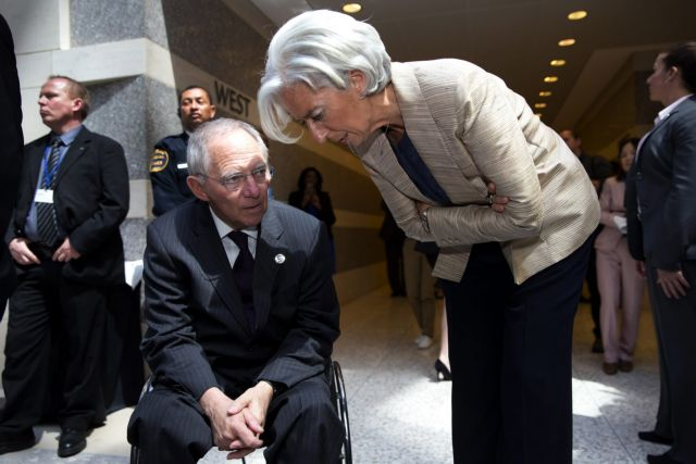 Government blames the IMF and Schäuble over negotiations impasse | tovima.gr