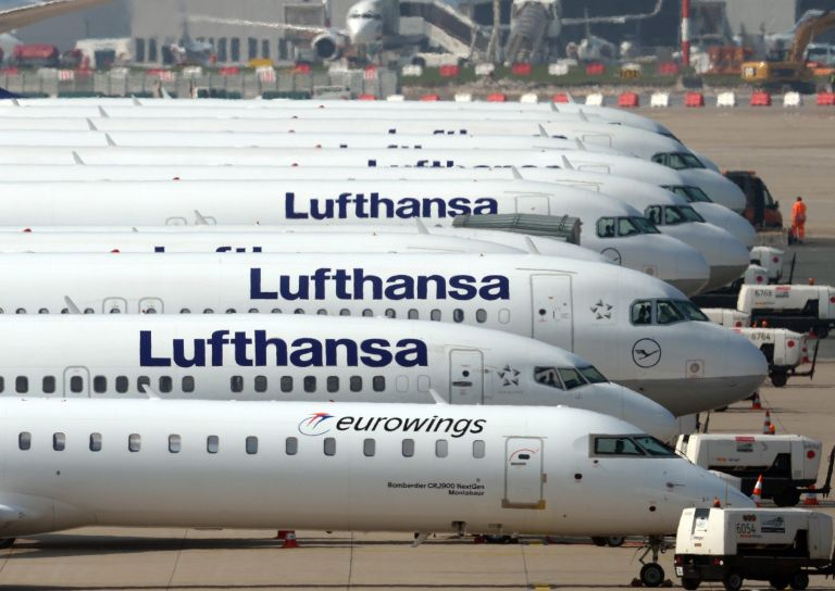 Ματαίωση πτήσεων στην Γερμανία λόγω των απεργιών της Lufthansa | tovima.gr