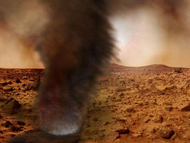 Τοξική η σκόνη του Αρη | tovima.gr