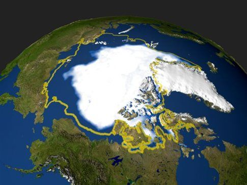To λιώσιμο των πάγων μετατοπίζει τους πόλους της Γης | tovima.gr