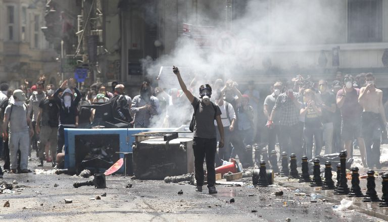 Πεδίο αντιπαράθεσης μεταξύ Ε.Ε. και Ερντογάν η πλατεία Ταξίμ | tovima.gr
