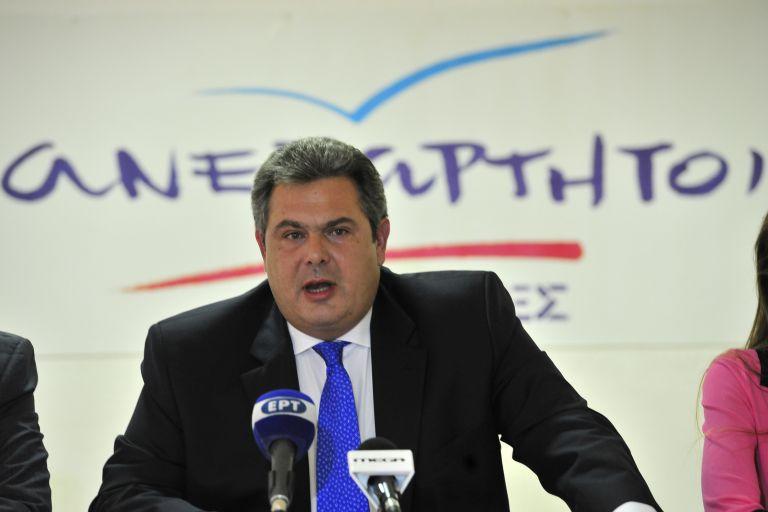 Π. Καμμένος: Δεν αποκλείω εκλογές μέσα στο φθινόπωρο | tovima.gr