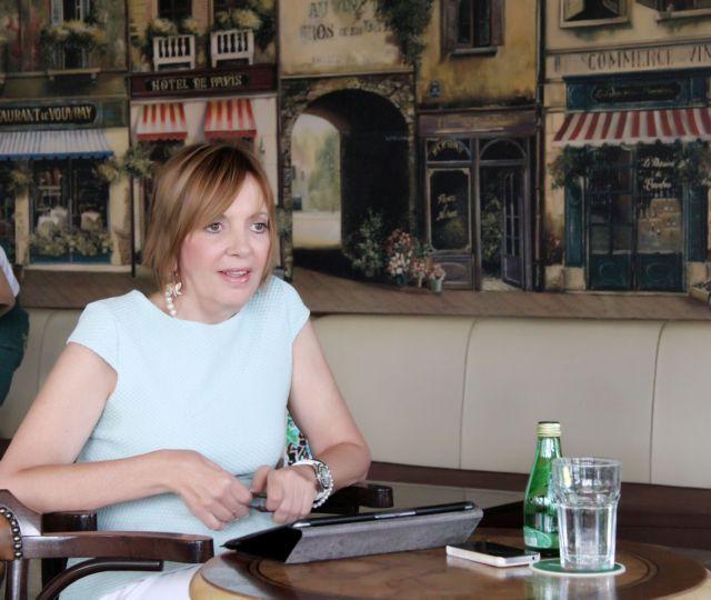 Μένη Λυσαρίδου: Η νέα πρόεδρος στο ΚΘΒΕ | tovima.gr