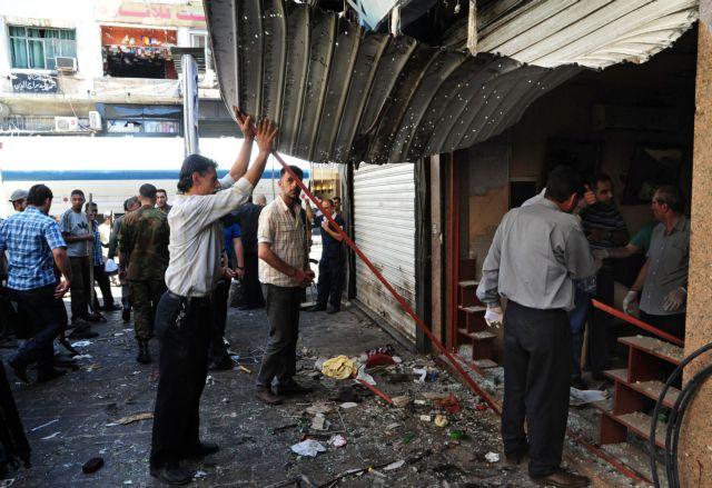 Δαμασκός: 14 νεκροί από βομβιστικές επιθέσεις | tovima.gr