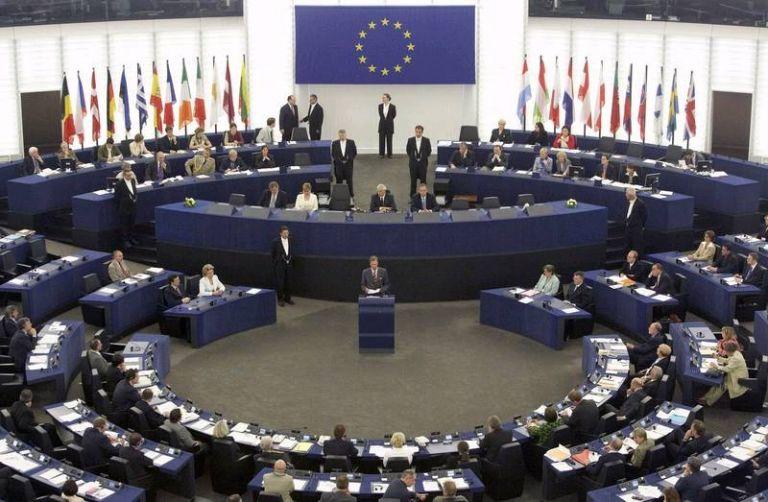 Το λουκέτο της ΕΡΤ στην Ολομέλεια του Ευρωκοινοβουλίου   tovima.gr