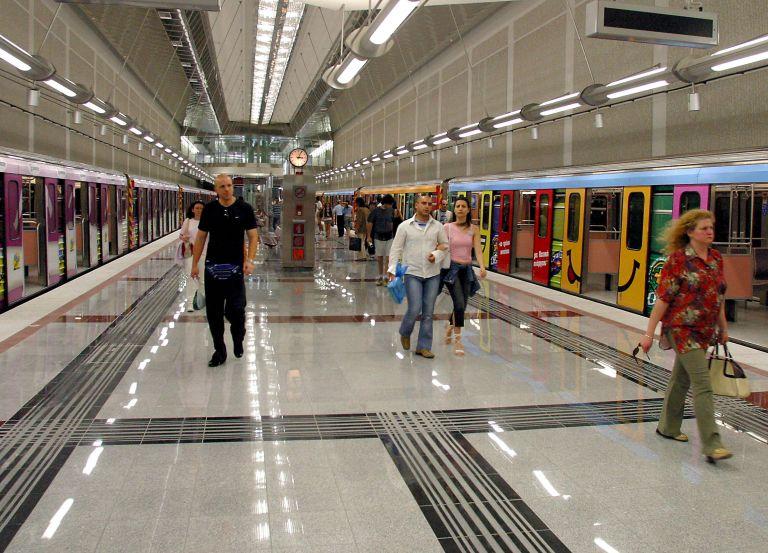 Κλειστός το Σαββατοκύριακο ο σταθμός μετρό Αγιος Δημήτριος | tovima.gr