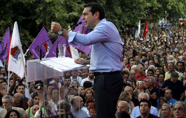 Με την πρόταση μομφής στο συρτάρι ο ΣΥΡΙΖΑ   tovima.gr