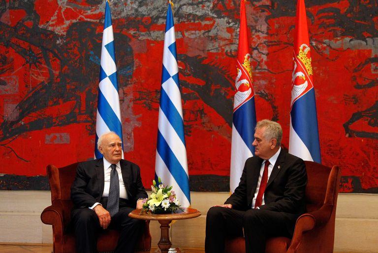 Κ.Παπούλιας: Στηρίζουμε σθεναρά την ευρωπαϊκή πορεία της Σερβίας | tovima.gr