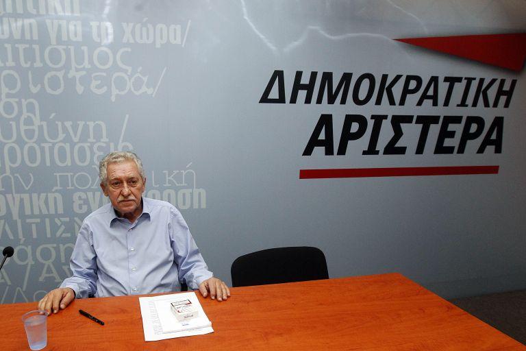 Αριστερό άνοιγμα αλλά «όχι» στον ΣΥΡΙΖΑ από τον Φ. Κουβέλη   tovima.gr