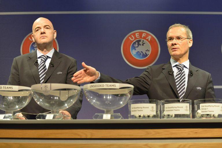 Τα ζευγάρια του Β' προκριματικού γύρου του Champions League   tovima.gr