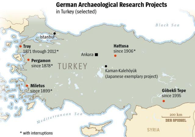 Χωρίς άδειες  ανασκαφής οι γερμανοί αρχαιολόγοι στην Τουρκία   tovima.gr