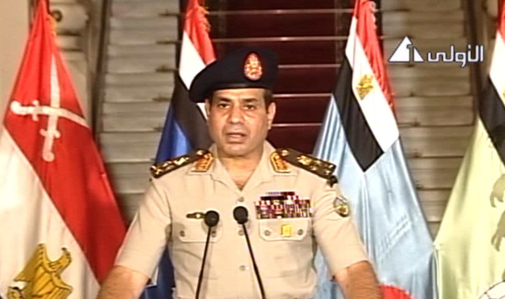 Αίγυπτος: Πραξικόπημα μέσω τηλεοπτικού διαγγέλματος - Ο στρατός ...
