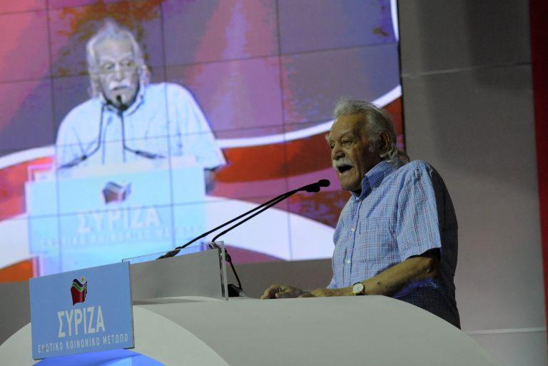 Συνέδριο ΣΥΡΙΖΑ: Συλλογική ηγεσία ζήτησε ο Μαν. Γλέζος | tovima.gr