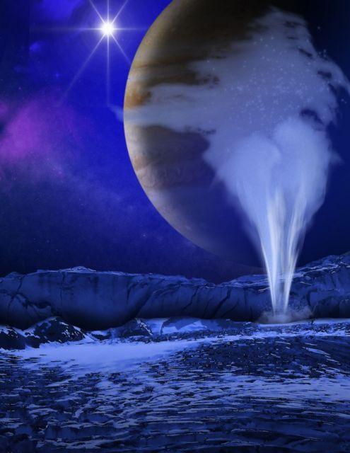 Η Ευρώπη «φτύνει» νερό στο Διάστημα | tovima.gr