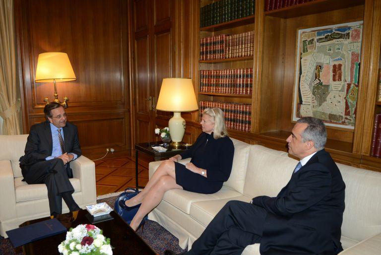Συνάντηση Σαμαρά με στελέχη των IBM και Nestle για νέες θέσεις εργασίας | tovima.gr
