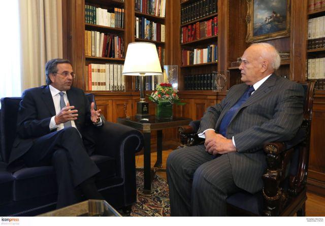 Prime Minister Samaras to visit President Papoulias | tovima.gr