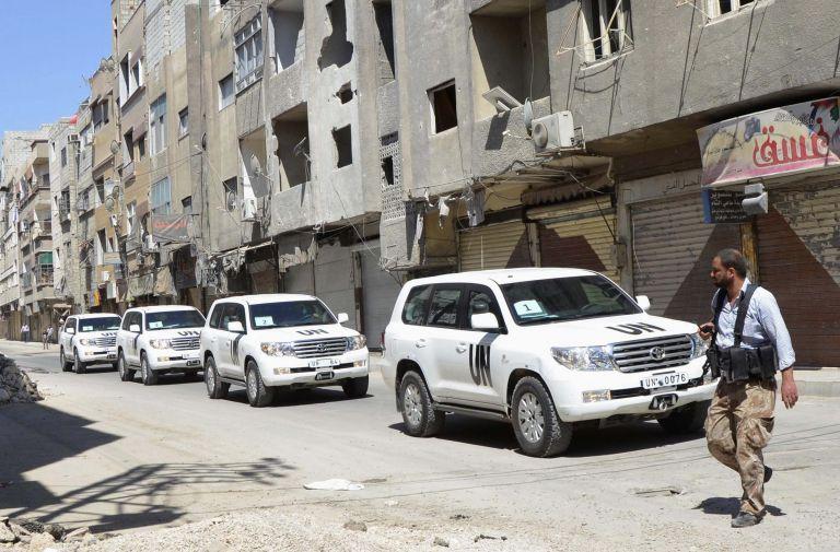 ΟΗΕ: Ζητά τέσσερις ημέρες ακόμη για την έρευνα στη Δαμασκό | tovima.gr