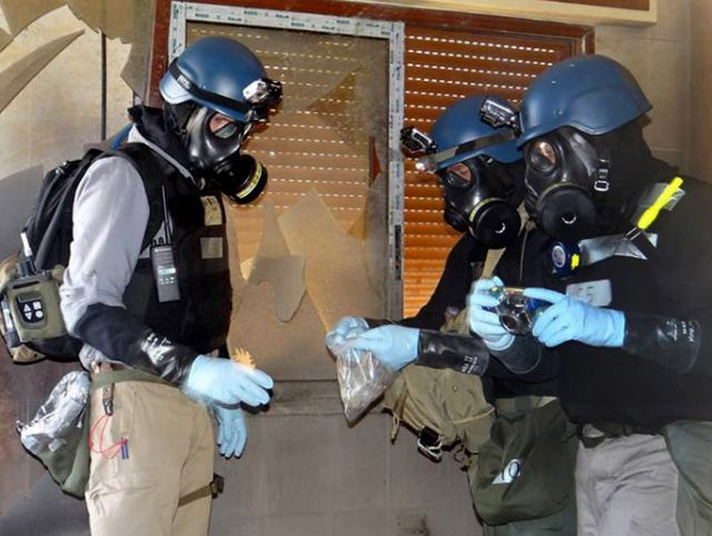 Foreign Affairs Ministry on the destruction of Syrian chemical weapons | tovima.gr