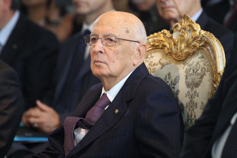 Ανοικτό το ενδεχόμενο παραίτησής του άφησε ο Ναπολιτάνο | tovima.gr