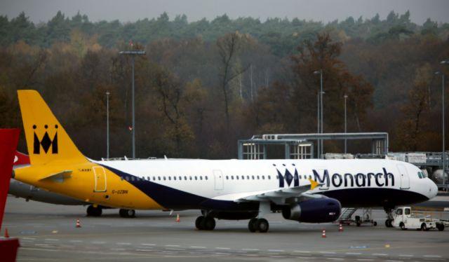 Διέκοψε τη λειτουργία της η βρετανική αεροπορική Monarch Airlines | tovima.gr