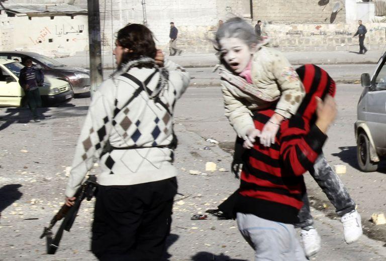 Συρία: Αντάρτες βομβάρδισαν νοσοκομείο στο Χαλέπι   tovima.gr