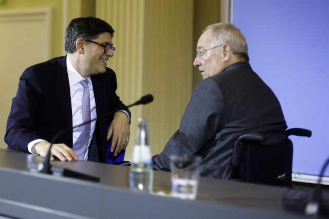 """Schäuble tells Lew to """"give 50 billions to save Greece"""" 